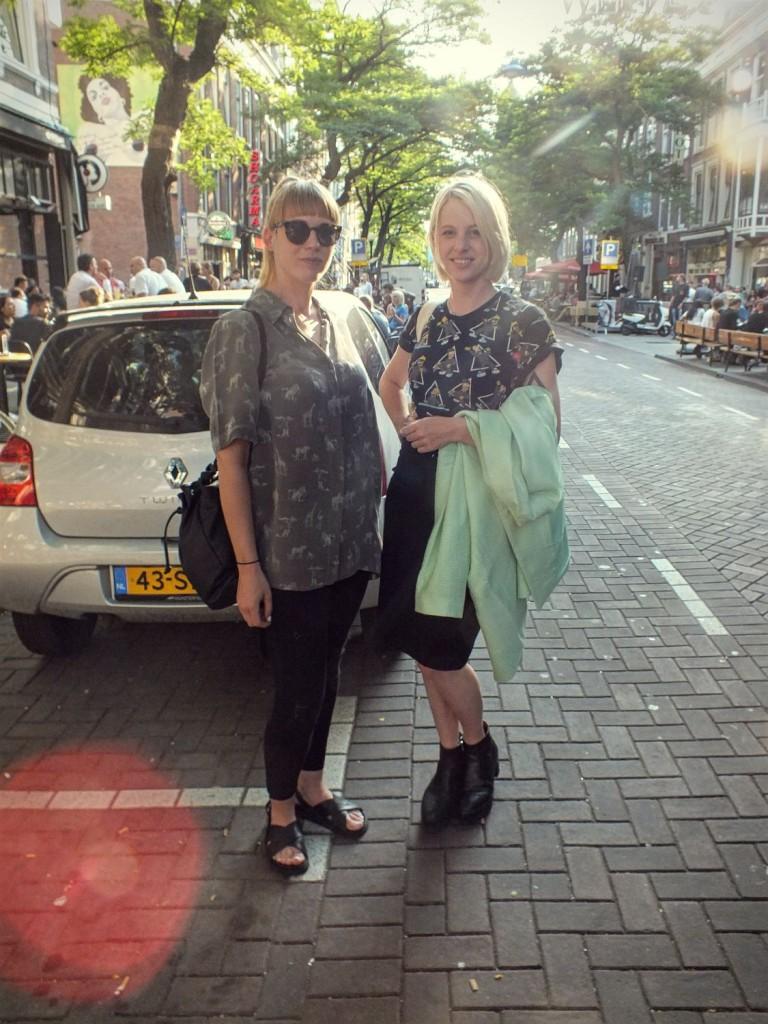 Aniek en Dorine