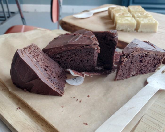 Chocolade biertaart lactosevrije boterkoek Koek & Pan