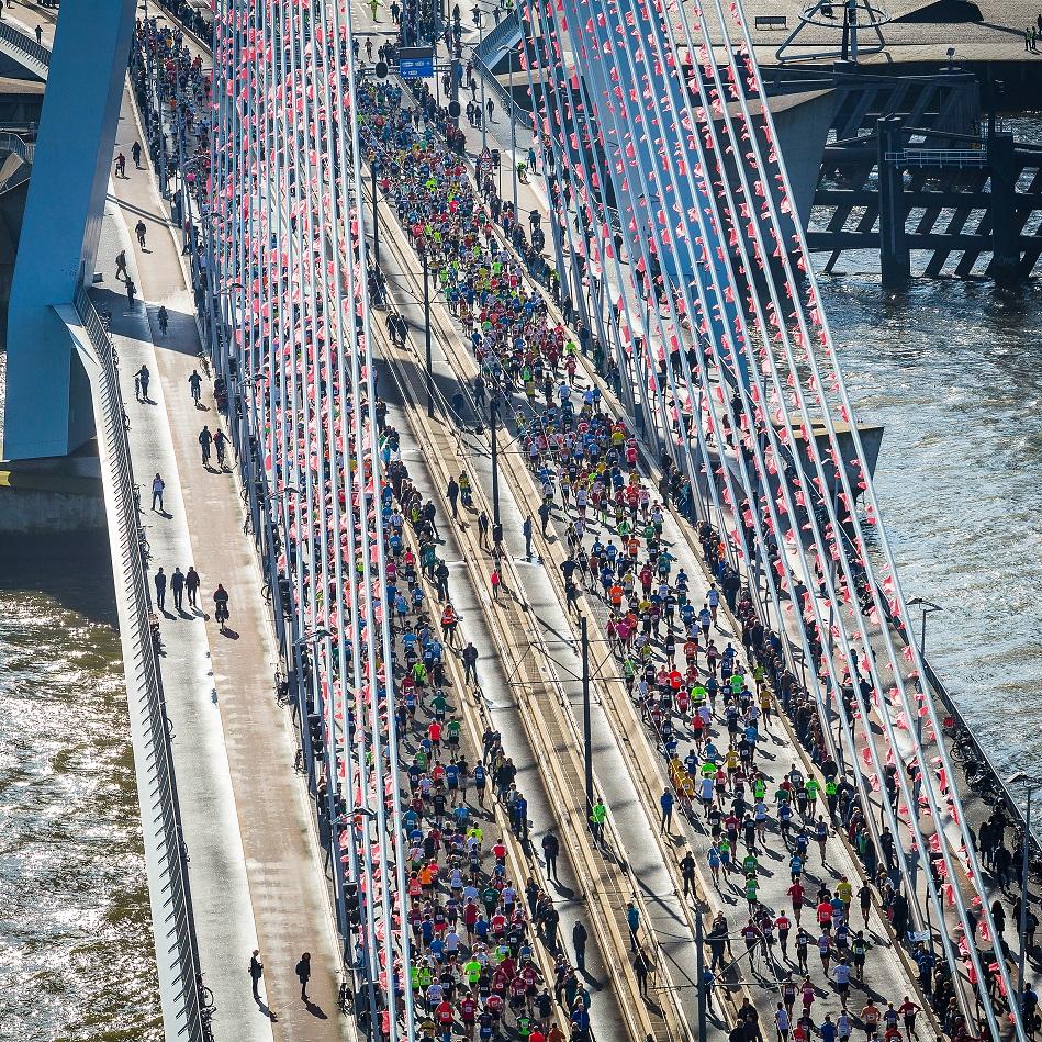 NN Marathon RotterdamLuka de Kruijf