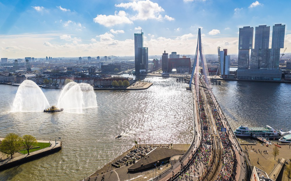 NN Marathon Rotterdam Luka de Kruijf