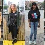 In beeld: Rotterdammers dragen Rotterdamse designers